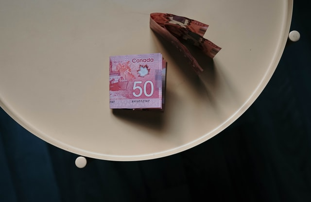 A picture of Canadian 50 dollar bill to denote Canada Budget 2021 highlights.